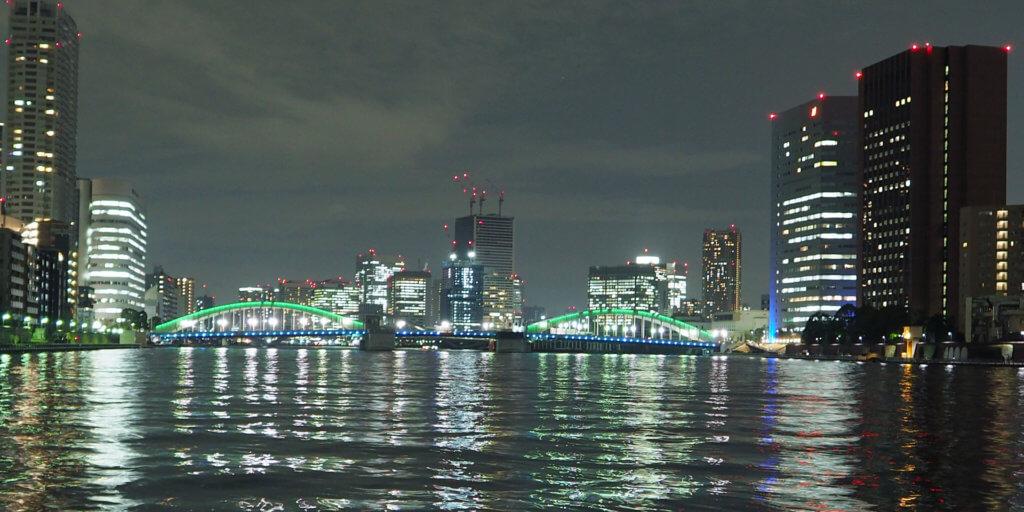 隅田川と勝鬨橋