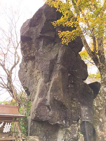 筑波山の奇岩