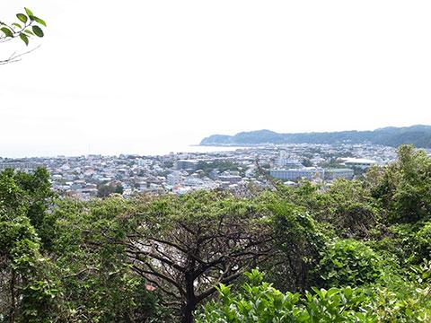 鎌倉市街の眺め